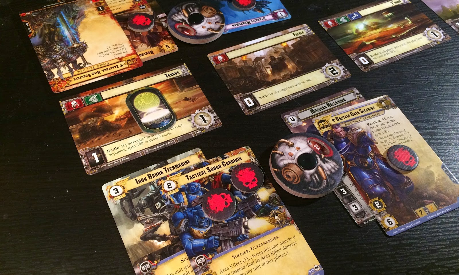 Warhammer 40,000 Conquest Review Space Marines