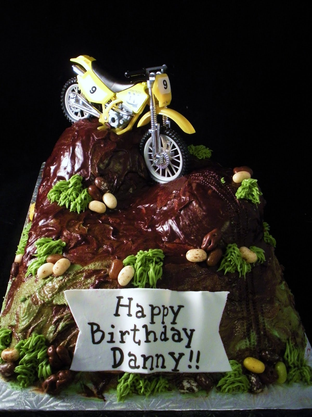 dirt bike cake - photo #44