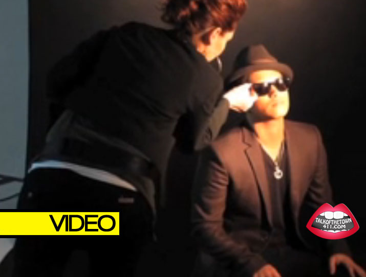 Bruno Mars Vibe Magazine Cover Shoot - Behind The Scenes (VIDEO)