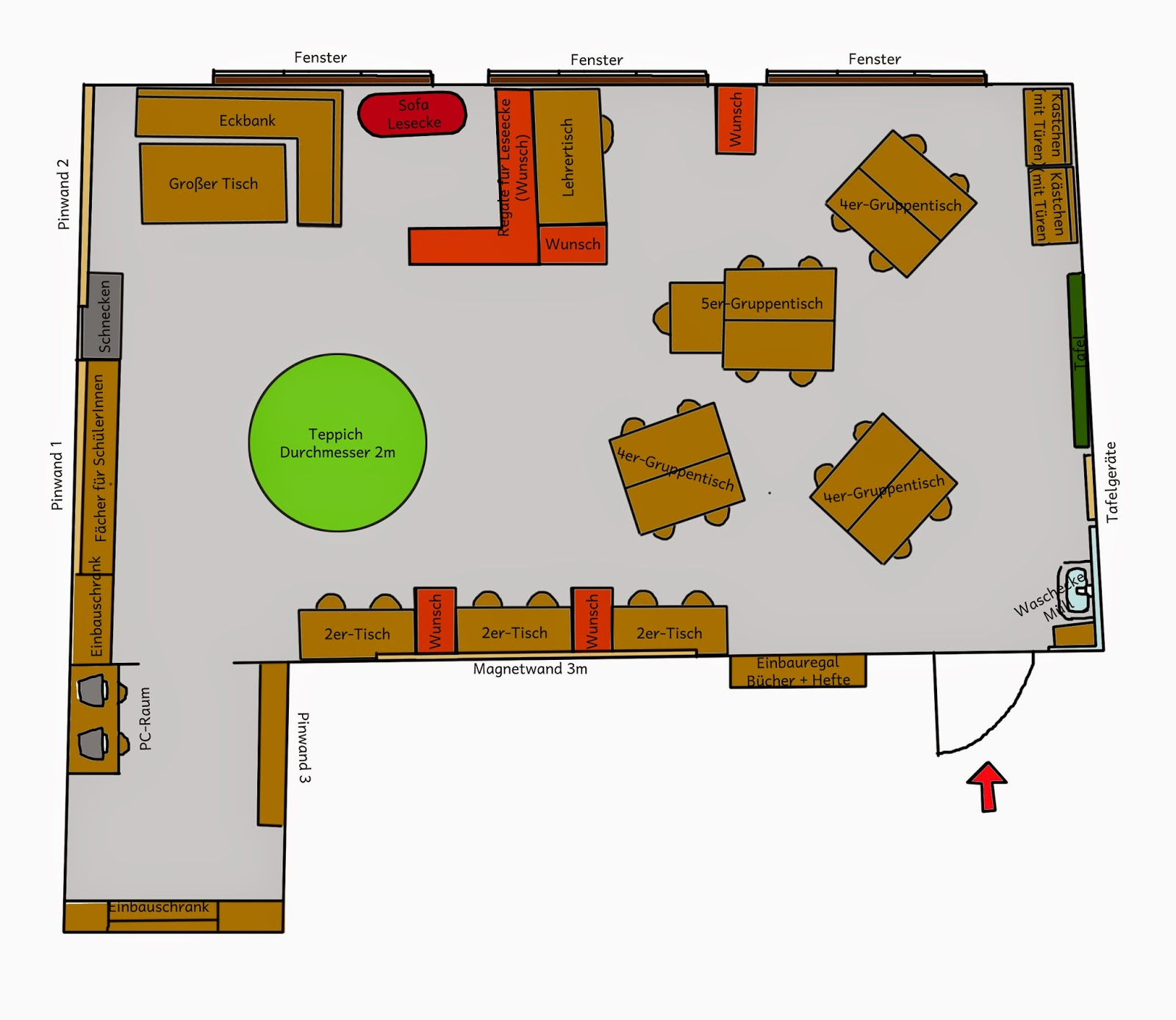 D Zimmer Einrichten With Krabbelwiese: Den Klassenraum Einrichten Also Den  Klassenraum Einrichten. From Kerstinskrabbelwiese