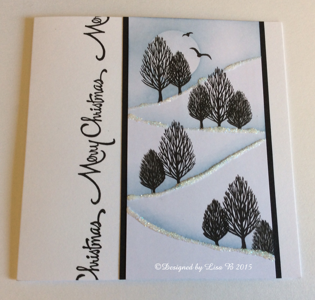 Welcome to Lisa.B.Designs : Card-io Stamps Tree Card Tutorial........