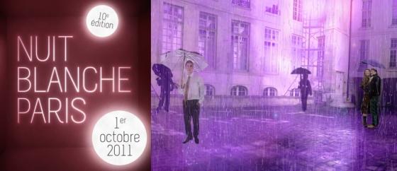 Nuit Blanche 2011 à Paris