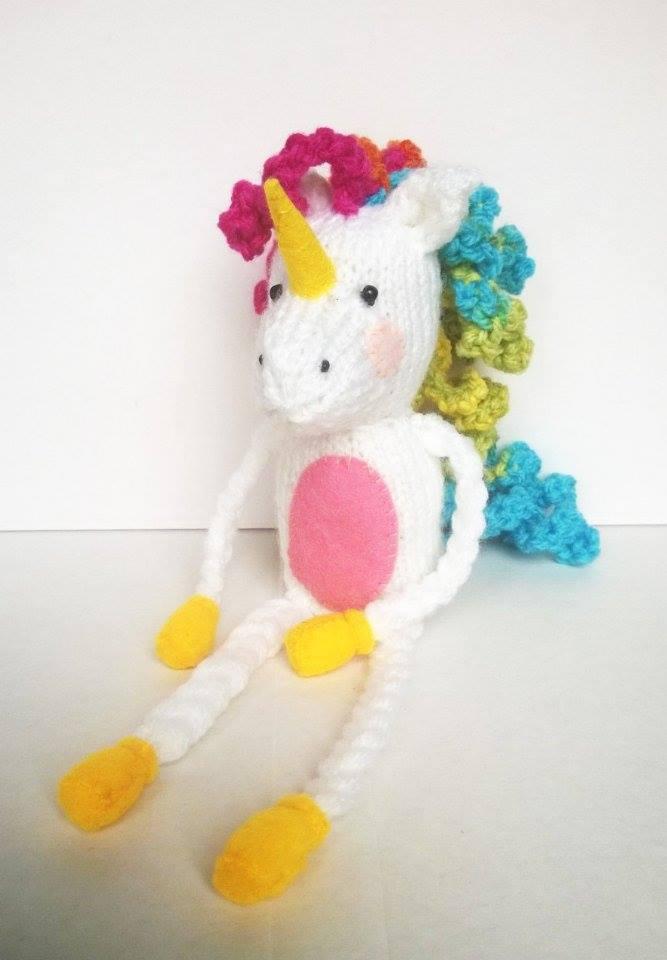Liana Marcel Keep Calm And Craft Free Lenny The Unicorn Soft Toy