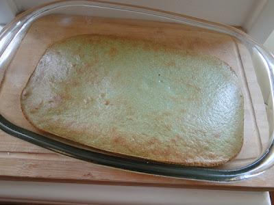 Spirulina Green Cake