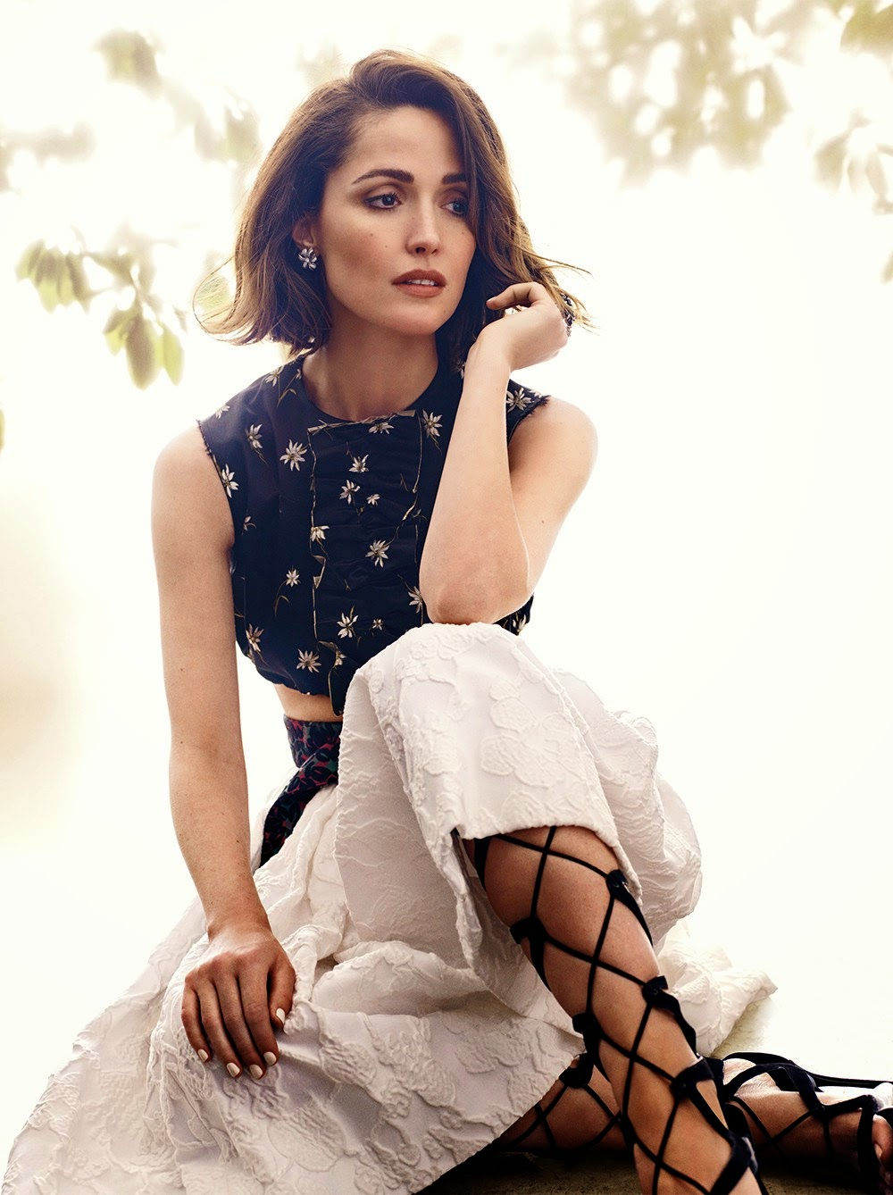 Arts Cross Stitch: Actress @ Rose Byrne by Ladylike Pretty ...