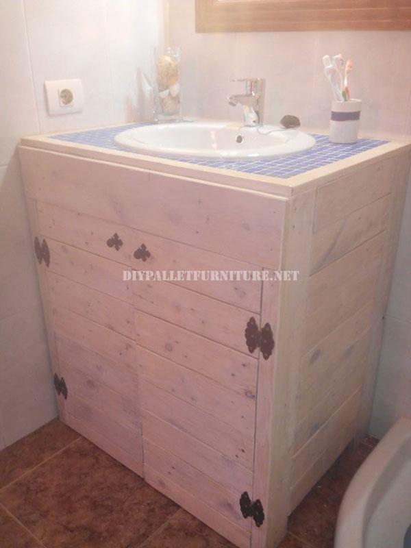 mueble para el lavamanos del ba o con