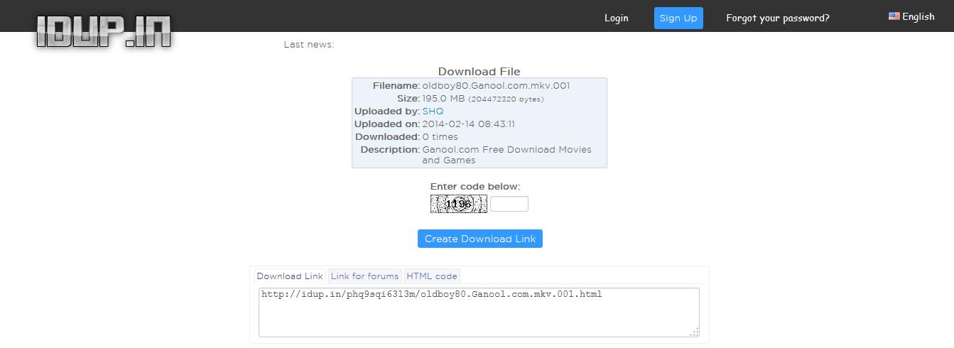 Cara Download di IDUP.IN