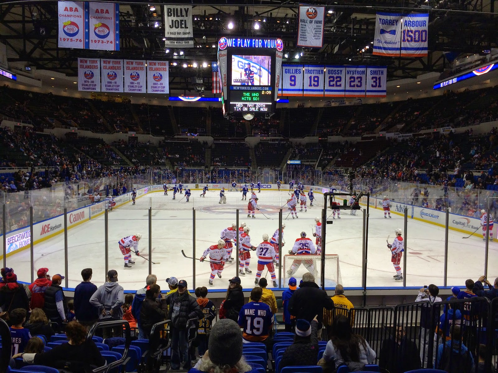 New York Islanders vs Washington Capitals
