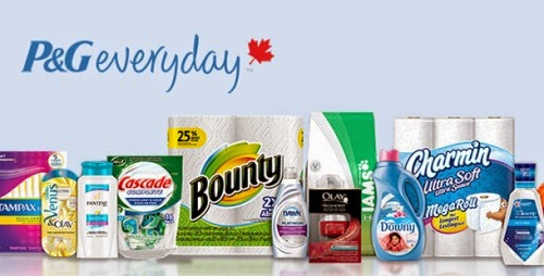 P&G Everyday Canada Free Samples & Coupons