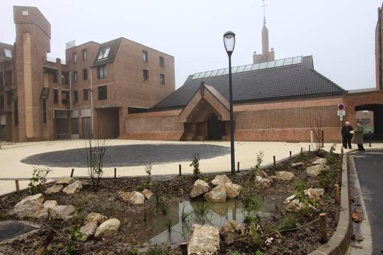 Eglise de la Cousinerie - Allée du Cercle