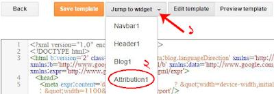 Blogger Jump to Widget
