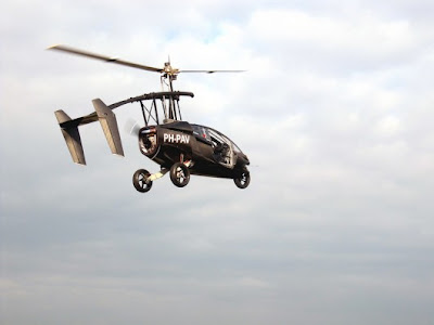 PAL-V One, Personal Air and Land Vehicle, Mobil Terbang dari Belanda