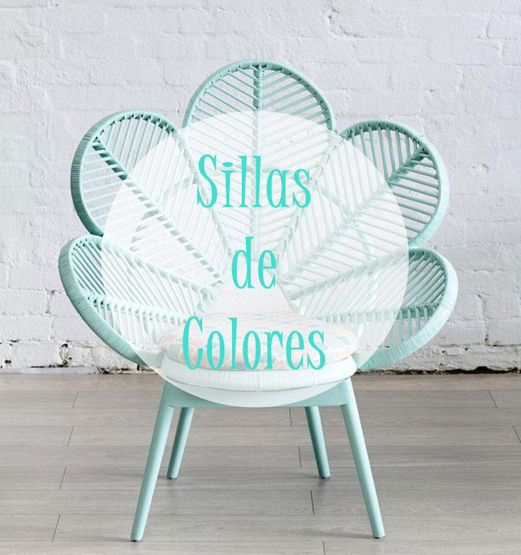 Sillas de colores me ayudas a elegir alquimia deco for Sillas para fuente de soda