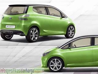 Harga Daihatsu Ayla Mobil Terbaru 2012
