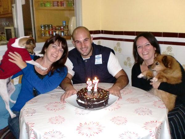 cumpleaños de Miguel