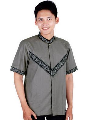 Desain baju koko muslim pria modern