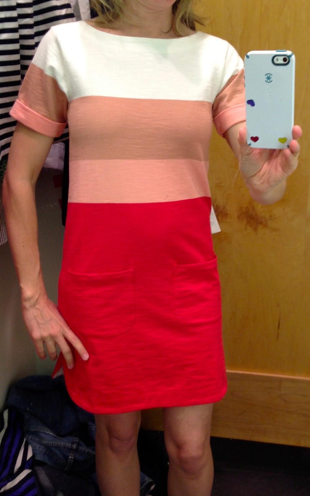 Too short dress oops