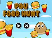 juego Pou Food Hunt