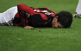 Alexandre Pato Se lesiono Con El Milan