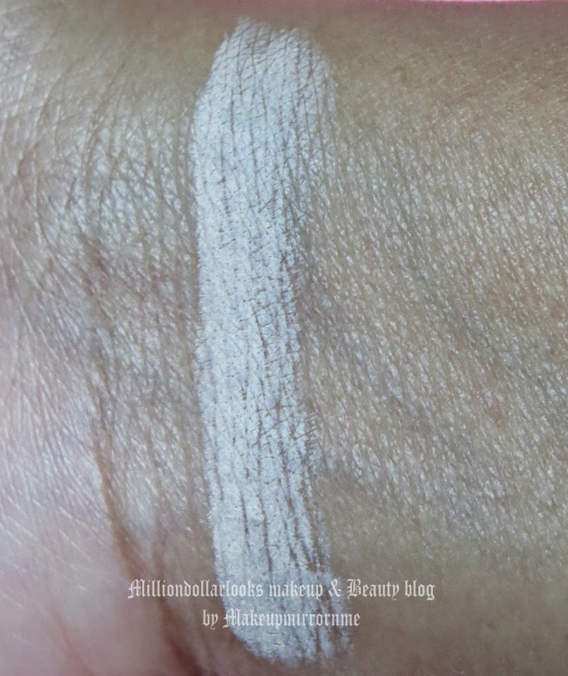 Oriflame Kohl pencil in shade 23859 Nude review, pictures and swatch, Nude color kohl pencil, Oriflame cosmetics India review, Eye pencil review, Drugstore makeup brands in India, Best nude kohl pencil for eyes, Indian makeup and beauty blog, Beauty blogger India, Indian makeup blogger