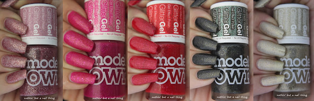 NEW! Models Own Glitter Gel Collection