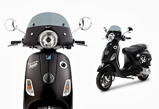 Vespa LX125ie Limited Edition MMFK collaboration 2013