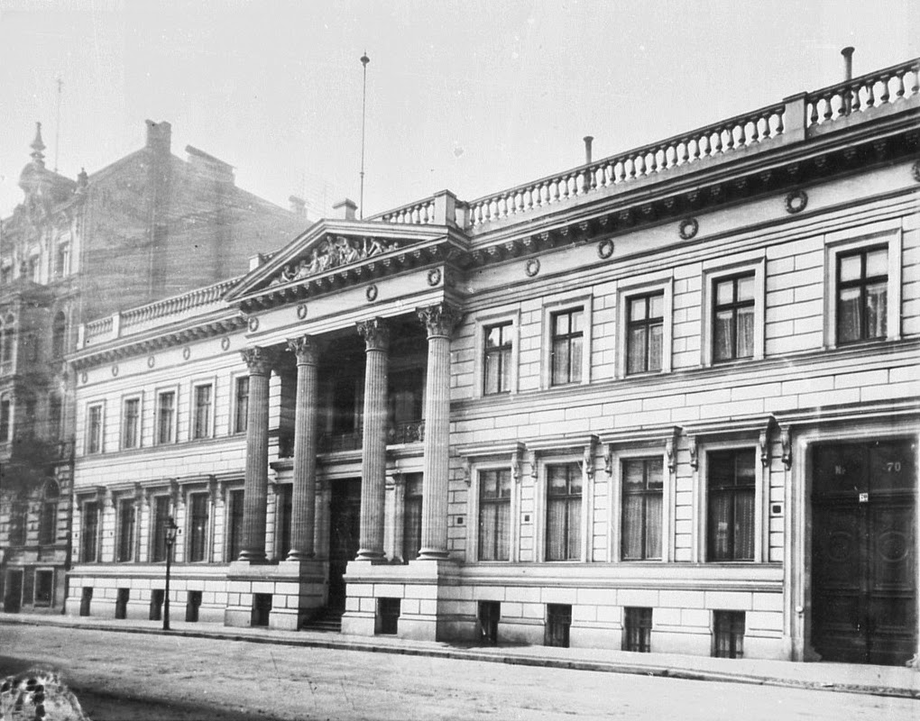 Palais Strousberg in Berlin - British Embassy 1877-1939  (From Wikipedia)