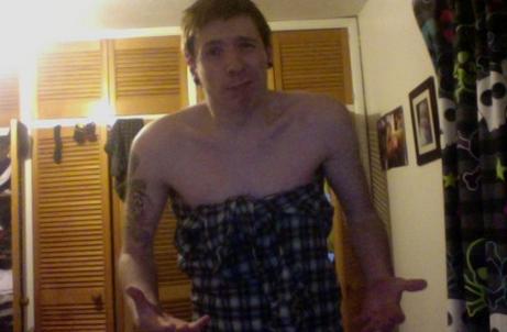 Erkek Gömleğinden Elbise Yapımı