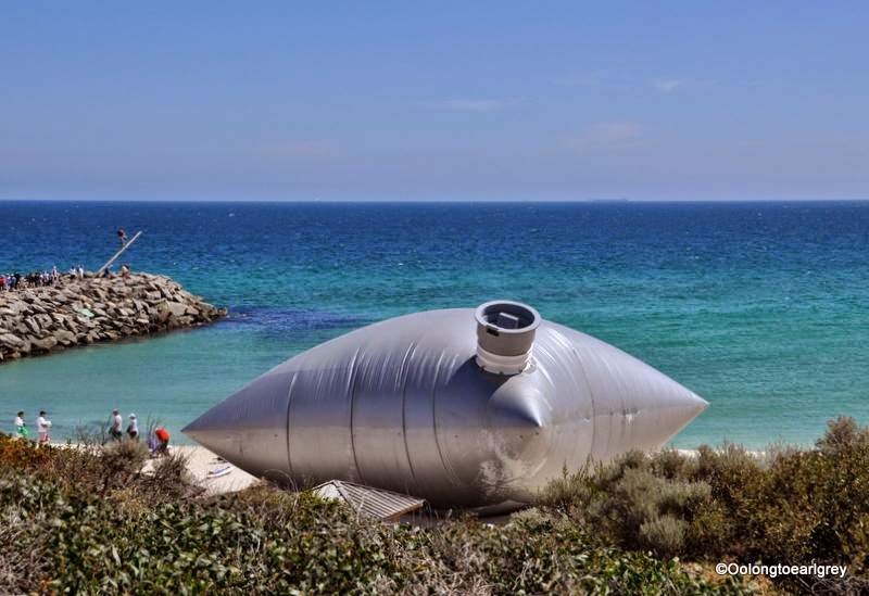 Sculpture by the sea Cottesloe 2014, Bulk Carrier