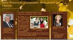 Wein, Winzersekt, Champagner-Spezialseite- Buch, Kultur und Lifestyle
