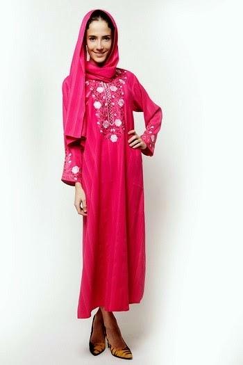 Latest Embroidered Abaya Dresses