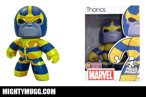 Thanos Marvel Mighty Muggs Exclusives - Mightymugg.com