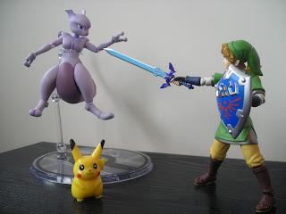 D-Arts Mewtwo Bandai Pokémon Nintendo Figma Link Pikachu Super Smash Bros