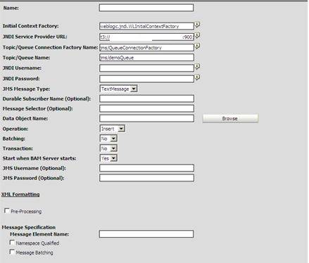 Fill EMS Details