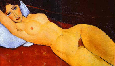 Amadeo Modigliani, Reclining Nude