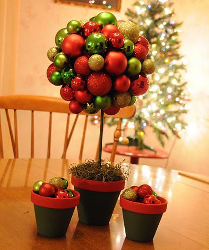 Topiario de navidad dise os bernal for Disenos navidenos para decorar puertas