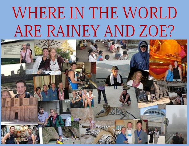 WHERE IN THE WORLD ARE RAINEY AND ZOE