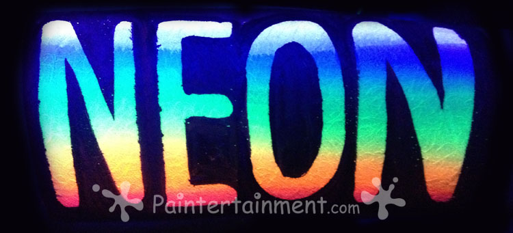 Paintertainment Neon Fluorescent Uv Dayglowwhat Does It All
