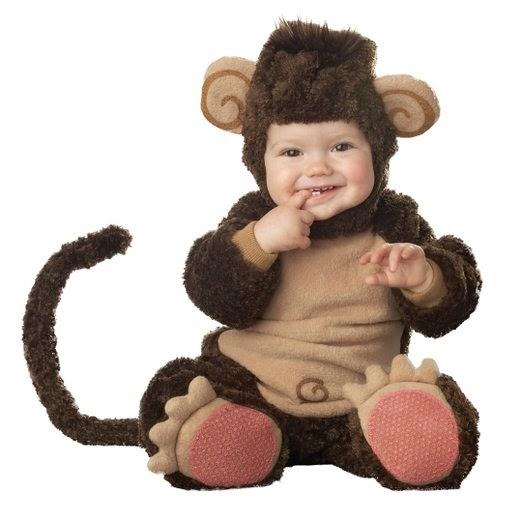 Infant Unisex Baby Monkey Costume