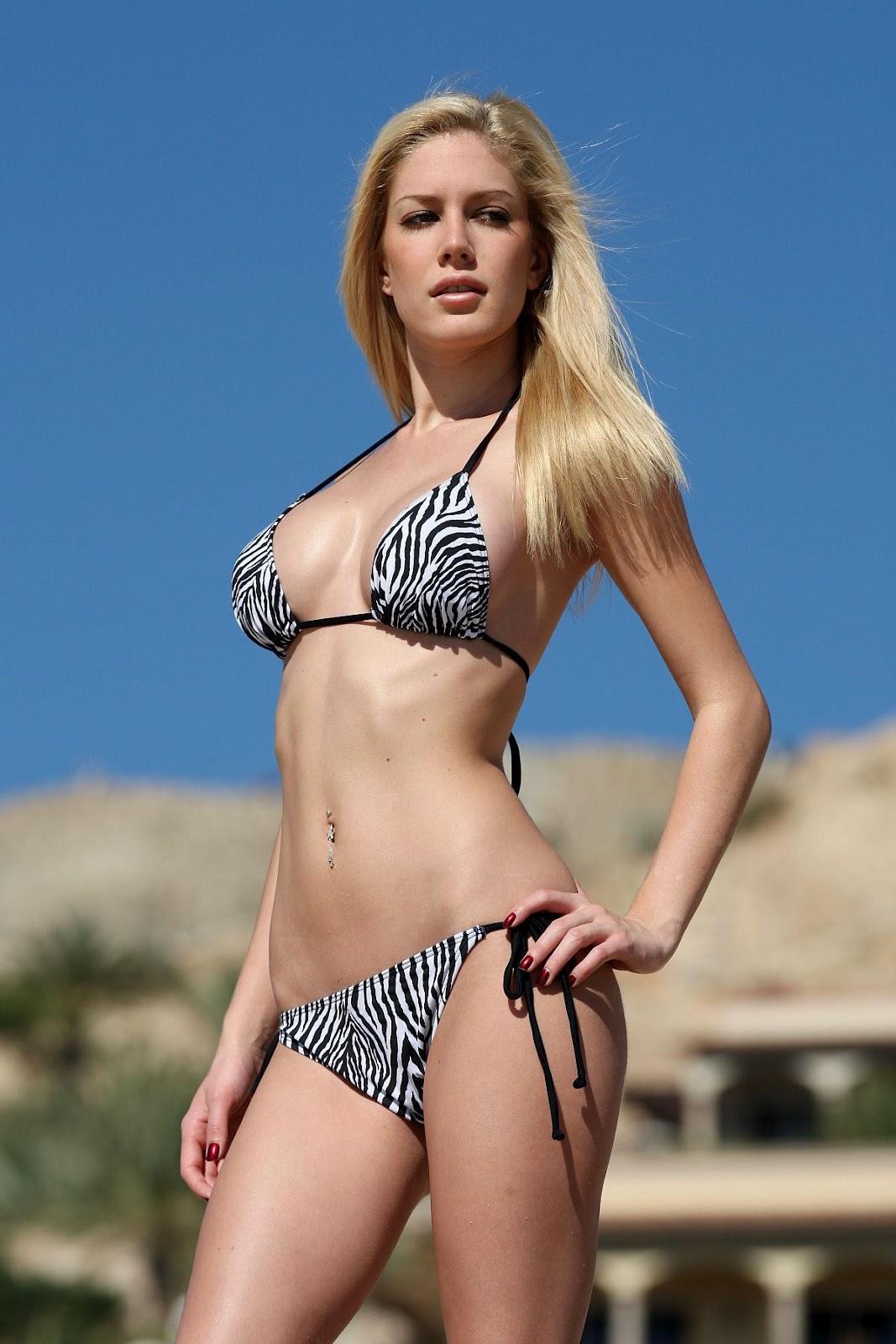 Have Heidi montag bikini are