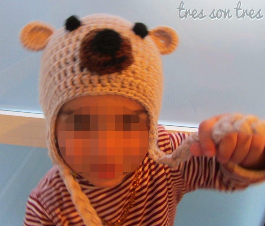 gorro hat crochet ganchillo niños