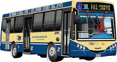 Recorridos de Colectivos: Linea 1 del Gran Buenos Aires
