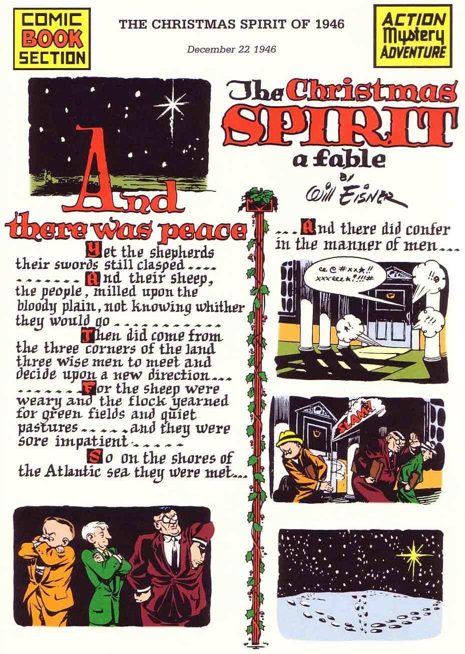 Four-Color Shadows: The Spirit-Will Eisner-1946