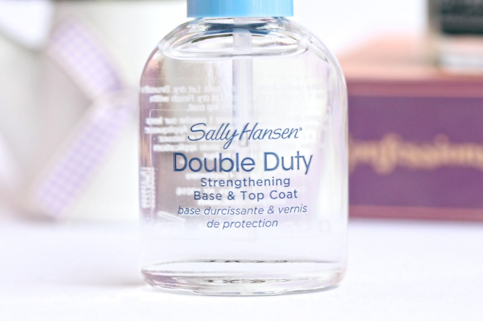 Sally Hansen Double Duty Strengthening Base & Top Coat