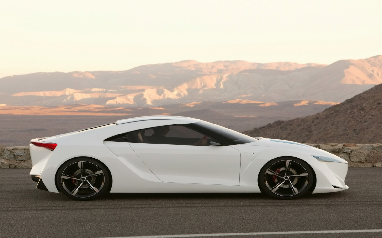 Toyota FT HS Concept 1680 X 1050 Widescreen