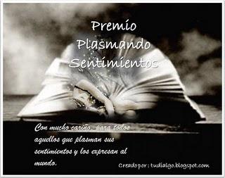 Otorgado por Sibaris de: http://losdemoniosdesibaris.blogspot.com