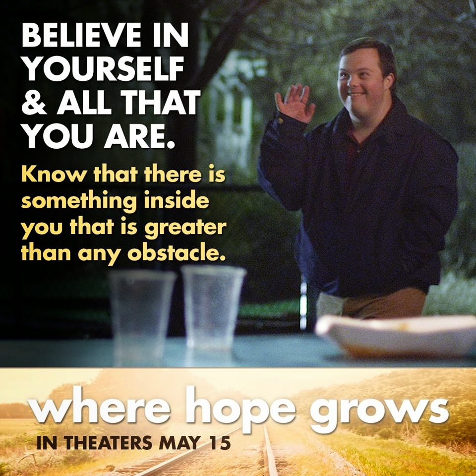 Where Hope Grows I m going to be