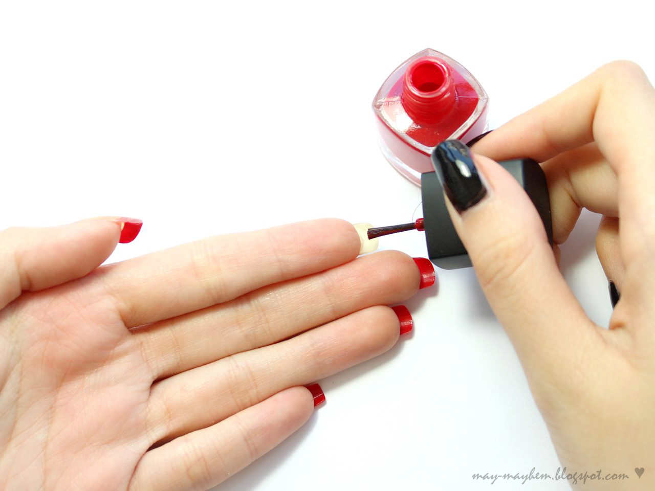 Mayhem: Christian Louboutin Inspired Nails