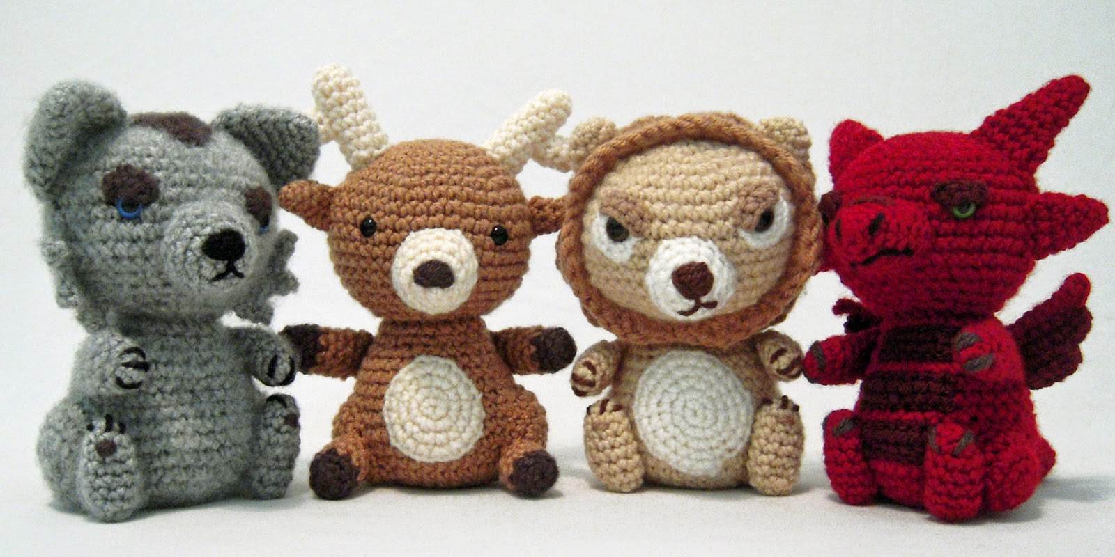 i crochet things: Pattern: Game of Thrones Sigils Amigurumi