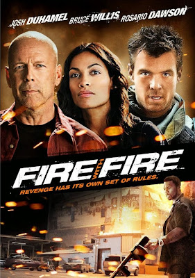 Poster Of Fire with Fire 2012 In Hindi Bluray 720P Free Download